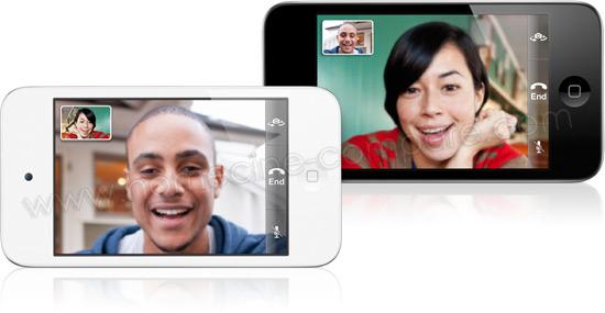 Apple iPod touch 4G (Noir / Blanc)