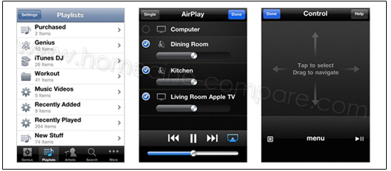 Apple TV 2G : Application Remote