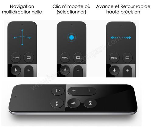 Apple TV 4G 64 Go : Siri Remote