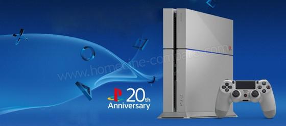 PS4 Édition Spéciale 20ème Anniversaire (crédit : Sony)