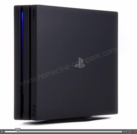Sony PS4 Pro : Vue en 3D
