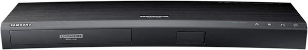 Lecteur Ultra HD Blu-ray Samsung avec design incurvé