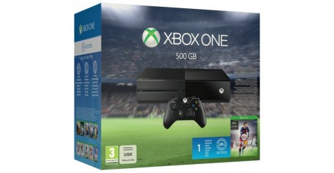 microsoft xbox one 500 go fifa 16 fiche technique prix. Black Bedroom Furniture Sets. Home Design Ideas