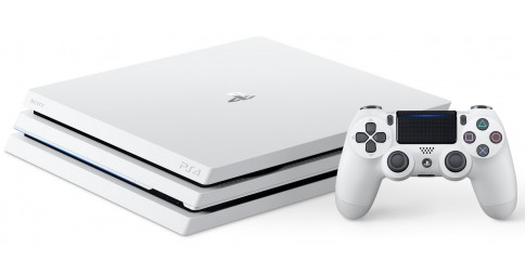 sony ps4 pro blanche 1 to playstation 4 pro white fiche. Black Bedroom Furniture Sets. Home Design Ideas