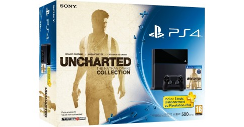 sony ps4 uncharted the nathan drake collection fiche. Black Bedroom Furniture Sets. Home Design Ideas
