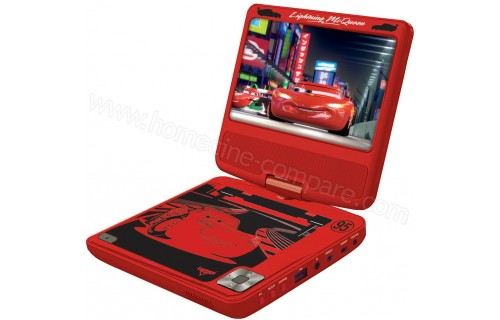 LEXIBOOK DVDP6DC Disney Cars