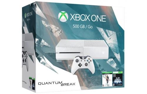 MICROSOFT Xbox One 500 Go Quantum Break EL