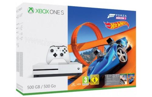 MICROSOFT Xbox One S 500 Go FH 3 Hot Wheels