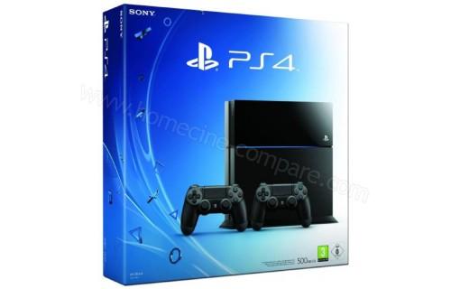 SONY PS4 500 Go 2 manettes Imports EU