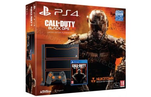 SONY PS4 1 To COD Black Ops III Edition limitée