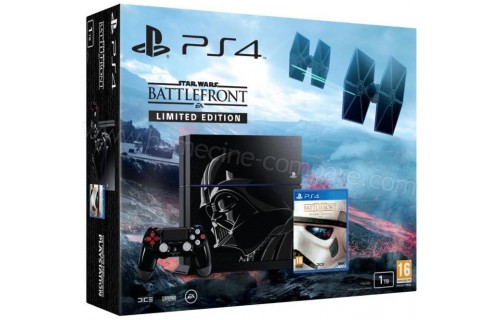 SONY PS4 1 To Star Wars Battlefront Edition limitée