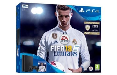 SONY PS4 Slim 500 Go FIFA 18
