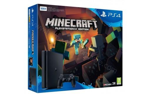 SONY PS4 Slim 500 Go Minecraft