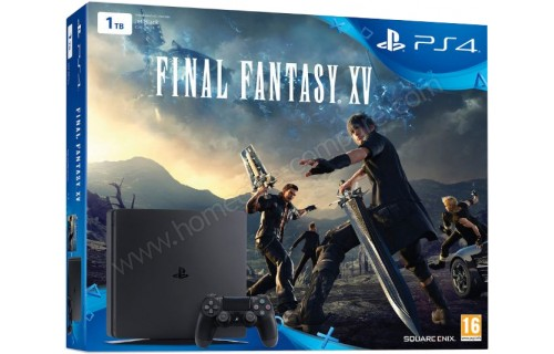 SONY PS4 Slim 1 To FFXV Imports EU