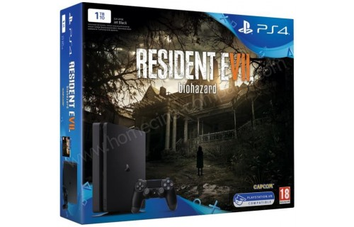 SONY PS4 Slim 1 To Resident Evil 7 Import EU