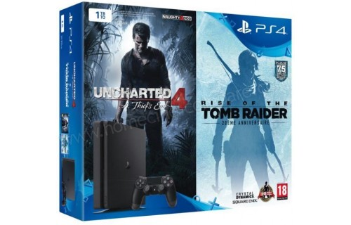 SONY PS4 Slim 1 To U4 ROTTR