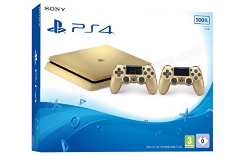 SONY PS4 Slim Or 500 Go