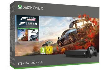 MICROSOFT Xbox One X 1 To FH4 FM7