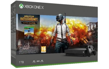 MICROSOFT Xbox One X 1 To PUBG
