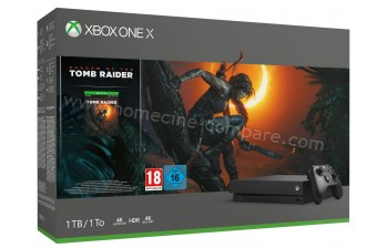 MICROSOFT Xbox One X 1 To Shadow of the TR