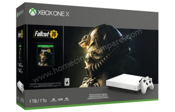 MICROSOFT Xbox One X Blanche 1 To Fallout 76