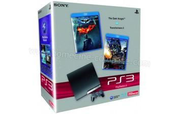 SONY PS3 Slim 250 Go Batman DK Transformers 2