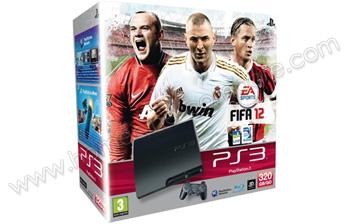 SONY PS3 Slim 320 Go FIFA 12