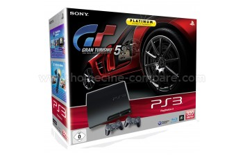 SONY PS3 Slim 320 Go GT5 Manettes x2