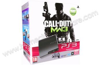 SONY PS3 Slim 320 Go COD Modern Warfare 3