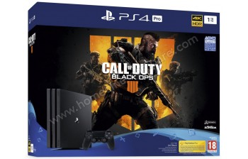 SONY PS4 Pro 1 To COD Black OPS 4