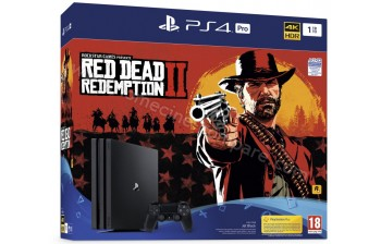 SONY PS4 Pro 1 To RD Redemption 2 Imports EU