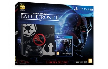 SONY PS4 Pro Noir 1 To Star Wars Battlefront II EL