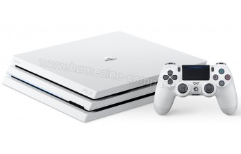 sony ps4 pro blanche 1 to playstation 4 pro white fiche technique prix et avis consommateurs. Black Bedroom Furniture Sets. Home Design Ideas