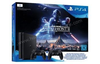 SONY PS4 Slim 1 To Battlefront II 2 Man. Imports EU