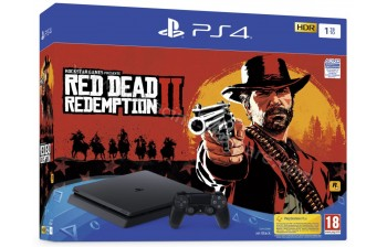 SONY PS4 Slim 1 To Red Dead Redemption 2