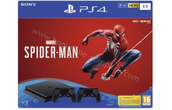 SONY PS4 Slim 1 To Spider-Man 2 manettes