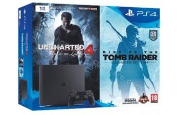 SONY PS4 Slim 1 To U4 ROTTR Imports EU