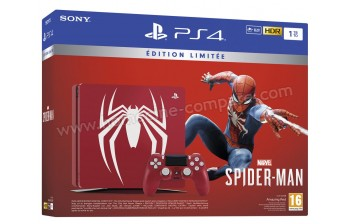 SONY PS4 Slim 1 To Spider-Man Edition limitée