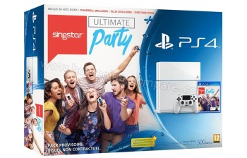 sony ps4 blanche singstar ultimate party fiche technique. Black Bedroom Furniture Sets. Home Design Ideas